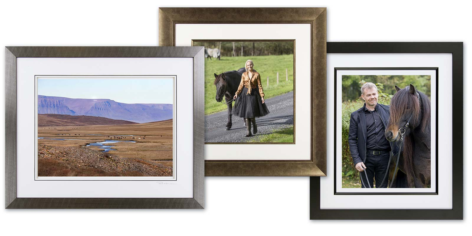 frame examples for fine art prints